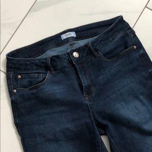 Kensie crop ankle skinny jeans